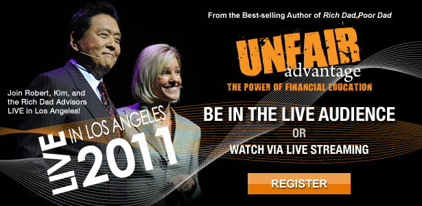 Rich Dad's Unfair Advantage - The Power of Financial Education