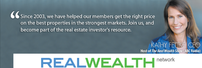 investing in single family homes - interview with kathy fettke from real wealth network