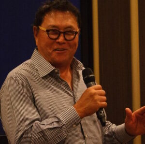 Robert Kiyosaki is the author of Rich Dad Poor Dad and a big fan of The Real Estate Guys