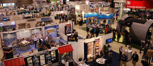 networking tips - meet people at trade shows