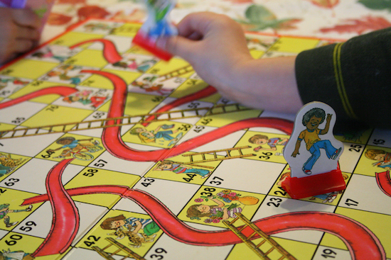 apartment investing like chutes and ladders board game - straight to top