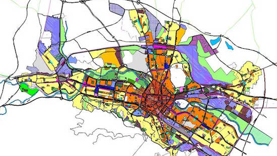 force equity in real estate by changing the zoning - zoning map