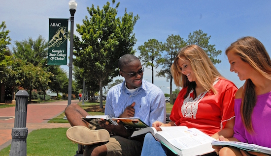 college Students studying - student housing investment